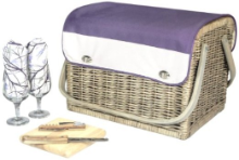 Kabrio Aviano Wine and Cheese Basket for 2