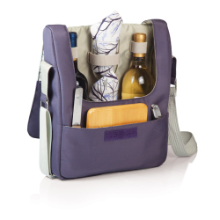 Tivoli Aviano 2 Bottle Wine Service Tote for 2