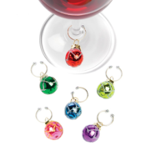 Vintage Ornament  Wine Charms