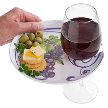 Vineyard Grapes Buffet Plates - Set of 6