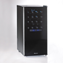 32 Bottle Dual Zone Touchscreen Silent Wine Refrigerator