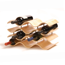 Bali Wine Rack 10 Bottle - Natural