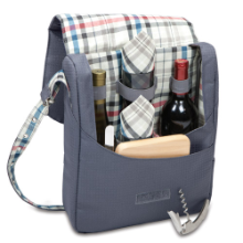 Britannia Carnaby St 2 Bottle Wine Service Tote for 2