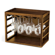 Cube Stack Wine Glass Rack