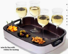 That's Entertainment Multi Purpose Hostess Tray