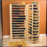 126 Bottle Swedish Wine Rack