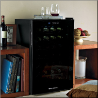 28 Bottle Touchscreen Wine Refrigerator