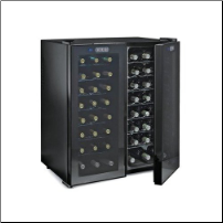 48 Bottle Double Door Wine Refrigerator (2-Temp)