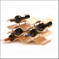 Bali Wine Rack 10 Bottle - Natural (SKU: CCO-010205)