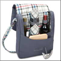 Britannia Carnaby St 2 Bottle Wine Service Tote for 2 (SKU: CCP524-60-778)