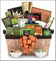 Epicurean Delights Gift Basket (SKU: CCGT-3946)