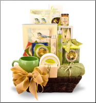 It's Only Natural Spa Basket (SKU: CCGT-6599)