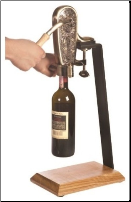 LeGrape Uncorking Machine and Table Stand