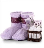 Relaxation Booties with Lavendar (SKU: CCGT-5464)