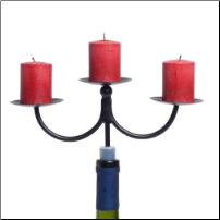 Wine Candelabra by Afterglow - Set of 2