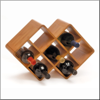 Bamboo Wine Rack (SKU: CCO-010095)