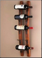 Barrel Stave Wall Wine Rack (SKU: CCWE570-08-10)