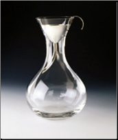 Classic Decanter with Funnel and Screen