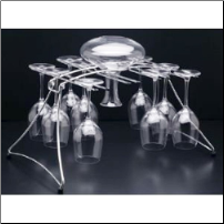 Fusion Decanter and Stemware Drying Rack