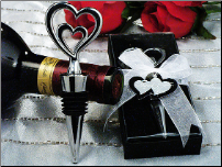 Two Hearts are Better Than One Wine Stopper